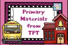 Primary Materials from TPT / Check out these great FREE AND PRICED products from Teachers Pay Teachers!  Pinners:  Please be sure to pin 1 free item for each paid one.  Please pin no more than 2-3 items a day.  Blog posts regarding items are welcome, too.  Let's keep a great variety for the followers of this board!   / by Teacher Tam