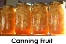 Canning Foods / by Jan Anderson