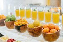 'a la table / buffet style / by Cristina Bennett