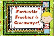 Fantastic Freebies & Giveaways / Here are FREEBIES (all subjects) and GIVEAWAYS (please check the contest dates)!  Enjoy!  (For those pinning: Please delete pins for your giveaways once they have ended. Thanks!)