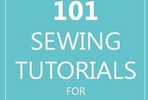 Sewing - Tutorials - Tutoriales / by Marilyn Barreto