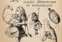 Alice & Cheshire  / by Hannah Brown