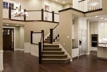 Stairways / Something about stairs that really add life to a home - these are some of our favorites