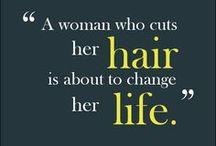 Short hair, don't care. :) / by Gaylene