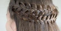 Hair / hiukset, letti, lettikampaus, kampaus, lettiohje, letitys, ohje, juhlakampaus, ranskalainen letti, kalanruotoletti, hollantilainen letti, poninhäntä, nuttura, 3D-letti