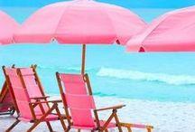 Aqua and Pink ... / by Bonnie Lowman