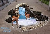 3D Art Skills / Optical Illusion