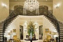 Grand Entrances~Stunning Staircases