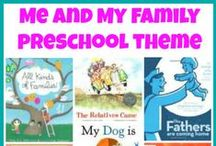 Preschool - Families / Family vocabulary for preschoolers / by Maggie Yoder