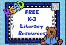 Free K-3 Literacy Resources / This board has FREE reading and writing resources for grades K to 3.  If you pin to this board, please pin only freebies and great ideas. Thanks!