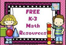FREE K-3 Math Resources / This board has FREE math resources for grades K to 3.  If you pin to this board, please pin only freebies and great ideas.  Thanks!