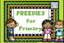 FREEBIES for Primary! / This board lists some great FREE products and activities for the primary grades.  Some blog posts and craft ideas are also included.  If you post to this board, please post only forever freebies and great project/classroom ideas!