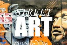 Travel - Street Art / Stunning pictures and features about treet art from around the world / by Kathryn Burrington