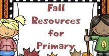 Fall Resources for Primary / This board has FREE & priced items for the primary classroom, as well as some fun fall ideas!  If you pin to this board, please pin 1 freebie or great idea for each priced item.  Thanks!