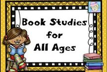 Book Studies for All Ages / This board is filled with materials to accompany books.  Here, you will find free and priced items and ideas to go with books of all reading levels.  If you pin to this board, please pin one free item or great idea for every priced item.