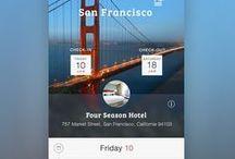 Travel App UI / by Takuji Sekido