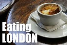 London - Food and Drink / Food features, recipes, restaurants and articles about the fabulous food foudnin London / by Kathryn Burrington