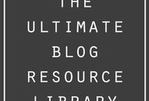 Blogging 101 / Everything about blogging, resources, creative ideas and inspiration.