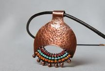 Copper Jewelry / Beautiful copper jewelry, handmade by skilled artisans. The healing properties and many faces of copper, with the warm tones and versatility. Rustic, edgy, classical, ethnical and avantgarde style.
