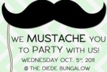 Dad's Retirement 'Stache Party / by Nichole Becker