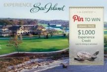 "Experience Sea Island / Enter our Pin to Win contest by following Sea Island Resort on Pinterest and pinning the pins on this board to your own ""Experience Sea Island"" board using #ExperienceSeaIsland. Then click the following link to fill out our contest entry form: www.seaisland.com/pinterest-contest  / by Sea Island"
