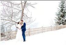 Romantische Winterhochzeit in den Bergen / Styleshooting am Kreuzjochhaus