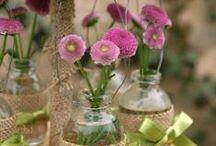 Blumen / Blumendeco wie sie uns gefällt :-)
