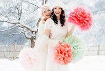 """Winter Hochzeitstraum Mit """"Giselle"""" / Styleshooting am Kreuzjochhaus"""
