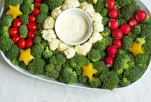 Holiday Food Fun / Fun and healthy recipes to celebrate Christmas, Hanukkah and New Year's Eve.