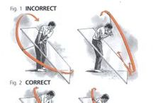 The Golf Swing Plane / Whether you have a one plane golf swing for a two plane golf swing the important thing is to stay on your swing plane. Ben Hogan envisaged a pane of glass running down from his shoulders to the ball and his thought was to stay under or one that pane of glass throughout.