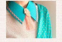 Keçe yaka & clutch / felt necklace & clutch / Keçeden yaka ve clutchlar ile tarzınıza yaratıcılık katın :)  sipariş ve bilgi için: creativitadesignn@gmail.com  Whatsapp: 05368521055