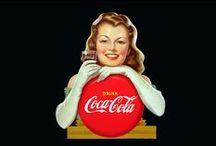 Coca-Cola Vintage / Anuncios, carteles e ilustraciones vintage de Coca-Cola.