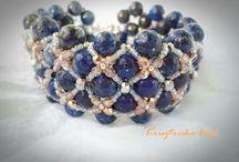 Ékszereim/My handmade jewelry / Kézzel készült gyöngyékszereim.