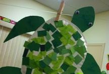 Turtley Crafts / Some fun craft ideas- especially for teachers for an Ocean Unit!