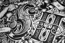 Handmade Typography (inspiration) / Handmade Typography, font