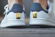 Кроссовки, сникерсы / Stan Smith, кроссовки, плоская подошва, удобная обувь, спорт шик, сникерсы
