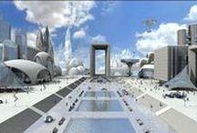 CGI Cities & Scenery