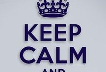 Keep Calm Art