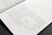 DESIGN / Graphic Design. Layout. Typography. Annual Reports. Logo Development. Brand Identity. Inspiration.  / by Alison Jewett