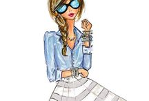 the style i wish i had. / {i just want to be feminine and girly and super pretty, all day, err'day.} / by Elizabeth Marie