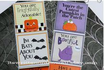 Lunchbox Notes for Kids / Lunchbox Notes for Halloween, Christmas, Valentine's Day and Thanksgiving and Morre