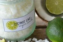 """Natural Body Care {DIY} / Inspiration for how to """"green"""" your body care routine + body care products."""