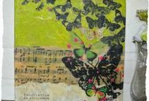 Art Journaling/ Mixed media / by Marleen van Meerendonk
