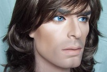 """Men's Wigs / New Attitude Wigs @ http://www.newattitudewigs.com has a contemporary collection of Men's Wigs. Some are Lace Front. All are natural looking and not the usual costume wigs on the market. Ours have """"Star Quality""""!"""