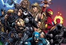 Marvel Universe / Avengers | Thing | Iron Fist | Ghost Rider | Moon Knight | Iron man | Hulk | Fury | Silver Surfer | Inhumans | Daredevil | Punisher | Scarlet Witch | She Hulk | Ms Marvel | Black Widow | Tigra | Eternity | Living Tribunal | Luke Cage | Sentry | Thor | Nova | Invisible Woman | Human Torch | Spider woman | Namor | Dr Strange | Elektra | Moon Dragon | Ant man | Black Panther | Arachne | Cloak and Dagger | Fantastic Four