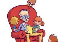 Artists -comics / Stan Lee | Jim Lee | Moebius | Frank Quitely | Grant Morrison | Frank Miller | Chris Bachalo | Alan Moore | Garth Ennis | Craig Thompson | George Perez | Neil Gaiman
