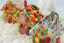Christmas  Gingerbread houses / by It's Written on the Wall