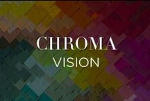 Chroma Vision / Color your way cool with tints, tones and hues designed to invigorate and exhilarate. / by INTERMIX