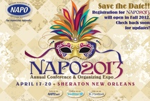 #NAPO2013 Annual Conference & Organizing Expo / by NAPO National