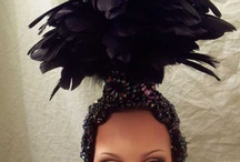 Hair Ornaments / Gorgeous Rhinestone, Sequin and Feather Hair Ornaments. Look and Feel Special!